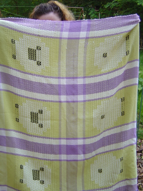 Fresh off of the loom!